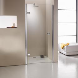 Фото сантехники Manufactur Studio Распашная дверь для ниши нестандартная 84.7х207см, петли слева, золото, Sand-Plus