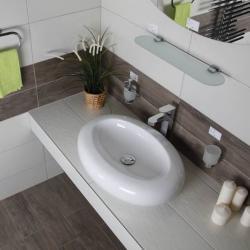 Фото сантехники Ovato Раковина 65 х 46 х 14 см на столешницу, белый