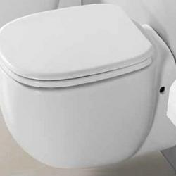 Фото сантехники Albero Сиденье для унитаза, цвет белый