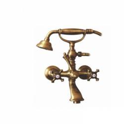 Фото сантехники Prestige Смеситель для ванны/душа внешний с душем, цвет бронза
