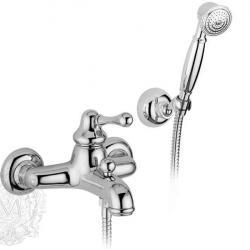 Фото сантехники Maya Смеситель для ванны монокомандный, внешний, цвет хром
