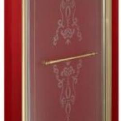 Фото сантехники Diadema Душевая дверь с декор 90см DX, стек мат с декором, профиль бронза ML.DDM-22.591.DX.BR