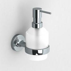 Фото сантехники E-plus Дозатор для жидкого мыла, стекло/хром