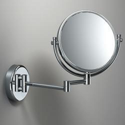 Фото сантехники Зеркало косметическое без подсветки, хром