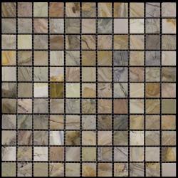 Изображение Adriatica Мозаика Mраморная Полированная M067-25P (M069A-GP) 2.5х2.5