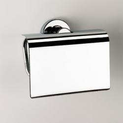 Фото сантехники Tecno Project Бумагодержатель закрытый, цвет хром