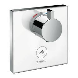 Фото сантехники Shower Select HighfowТермостат с клапаном для ручного душа, цвет белый