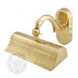 Фото сантехники Mirella Светильник настенный 20cм, цвет золото