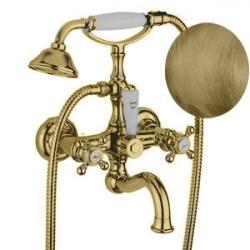 Фото сантехники Arcadia Смеситель для ванны внешний, цвет бронза