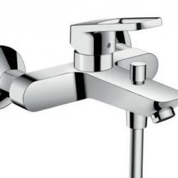 Фото сантехники Logis Loop Смеситель для ванны/душа, однорычажный, хром