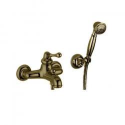 Фото сантехники Maya Смеситель для ванны монокомандный, внешний, цвет бронза
