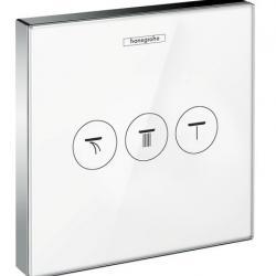 Фото сантехники Shower Select  Запорно-переключающее устройство для 3 потребителей, цвет белый