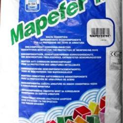 Строительная химия Mapefer 1K 5 kg антикоррозийный цементный раствор