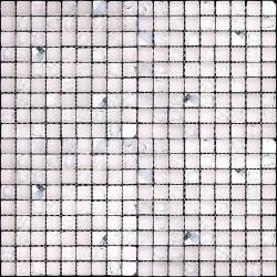 Изображение Ice Flowers Мозаика Стеклянная Глянцевая ICE-13 1,5х1,5