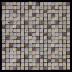 Изображение Inka Мозаика Стекло - мрамор BDA-1523 1,5х1,5
