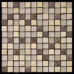 Изображение Inka Мозаика Стекло - Мрамор BDA-2323 2,3х2,3