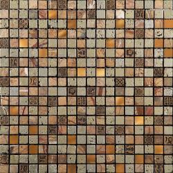 Изображение Inka Мозаика Стекло - мрамор BDC-1502 1,5х1,5
