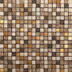 Изображение Inka Мозаика Стекло - мрамор BDC-1503 1,5х1,5
