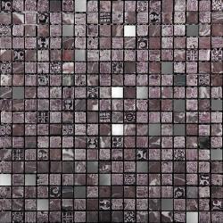 Изображение Inka Мозаика Стекло - мрамор BDC-1504 1,5х1,5