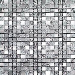 Изображение Mirror Стеклянная мозаика QM 1542 1,5х1,5