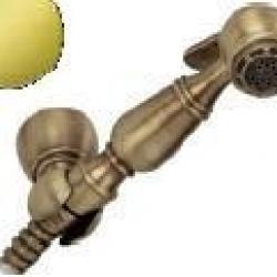 Фото сантехники Laura Гигиенический набор, цвет золото