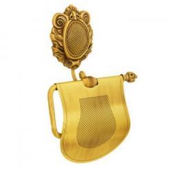 Фото сантехники Cleopatra Бумагодержатель закрытый, золото