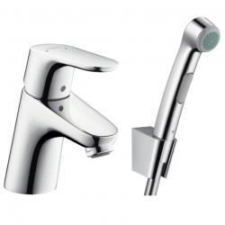 Фото сантехники Focus E2 Смеситель для раковины с гигиеническим душем, цвет хром