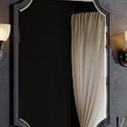 Фото сантехники LaDonna Зеркало Л7/BLK панель 720xh950x25, черная