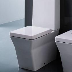 Фото сантехники REVE Чаша унитаза 67x36,5 см, полное прилегание к стене, сидение с микролифтом, цвет белый