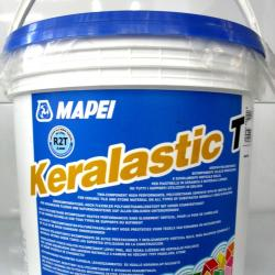 Строительная химия Keralastic-T White 10 kg полиуретановый клей для плитки и мозаики 2 комп