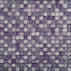 Изображение Ice Flowers Мозаика Стеклянная Глянцевая ICE-03 1,5х1,5
