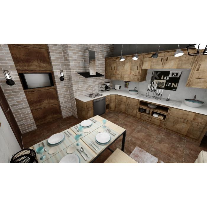 Кухня Rondine/Tribeca, Atlas Concorde Russia/Heat - 4