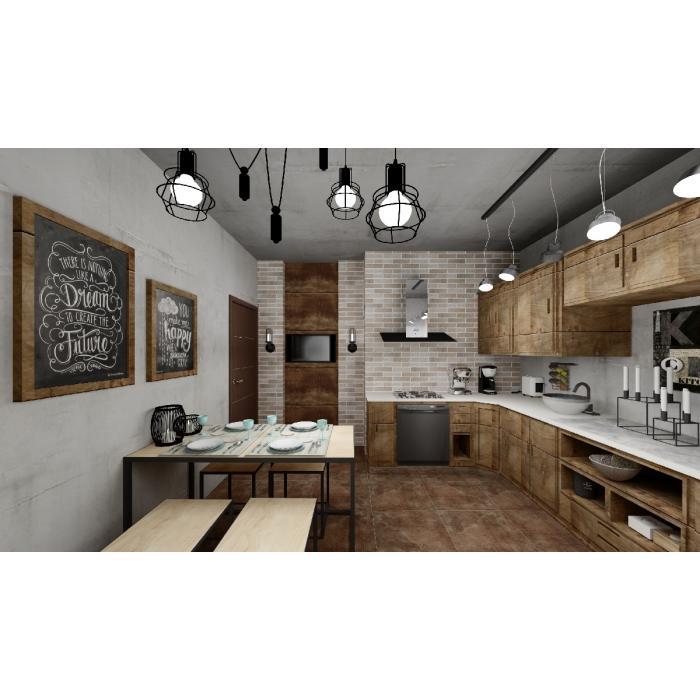 Кухня Rondine/Tribeca, Atlas Concorde Russia/Heat