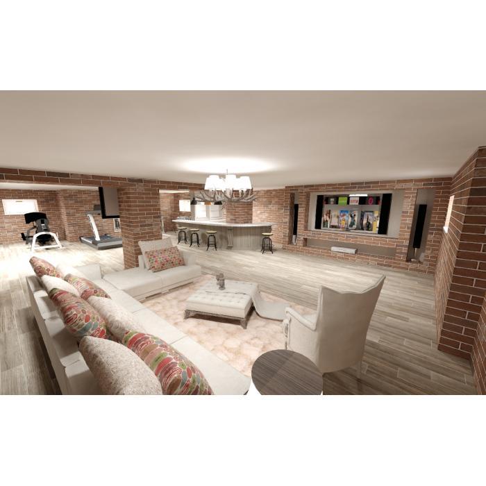 Гостиная, комната Italgraniti/Scrapwood - 4