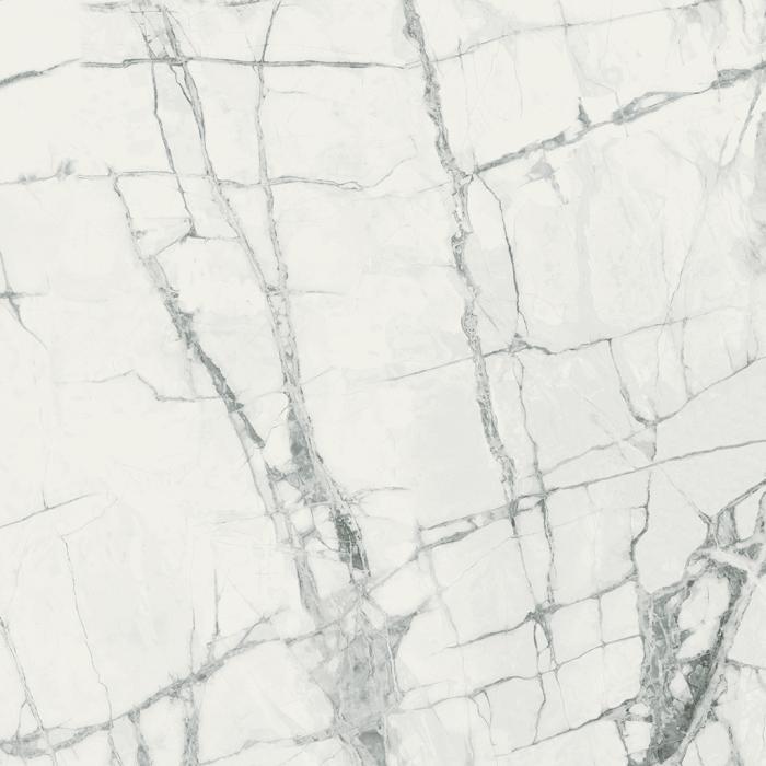 Текстура плитки Шарм Делюкс Инвизибл Уайт 80x80 Рет - 3