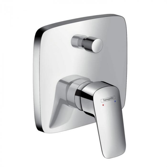 Фото сантехники Logis Смеситель для ванны/душа наружная часть, цвет хром