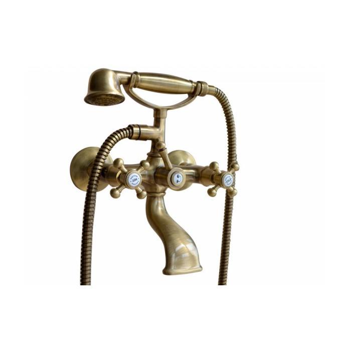 Фото сантехники Lady Смеситель для ванны с душем, цвет бронза