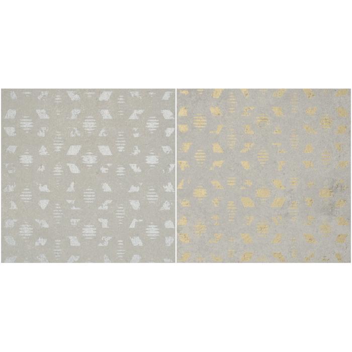 Текстура плитки Decoro Tracce1 Cemento Perla 20x20
