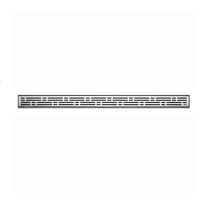Фото сантехники Решетка basic, 700 мм из нержавеющей стали, цвет матовый хром