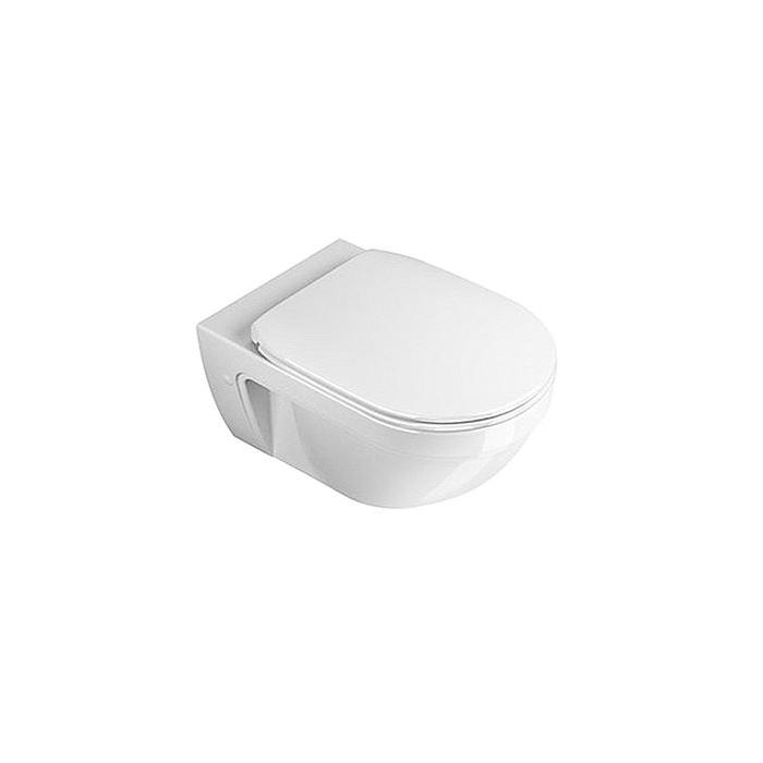 Фото сантехники Canova royal  Унитаз подвесной  55х36 см, цвет белый
