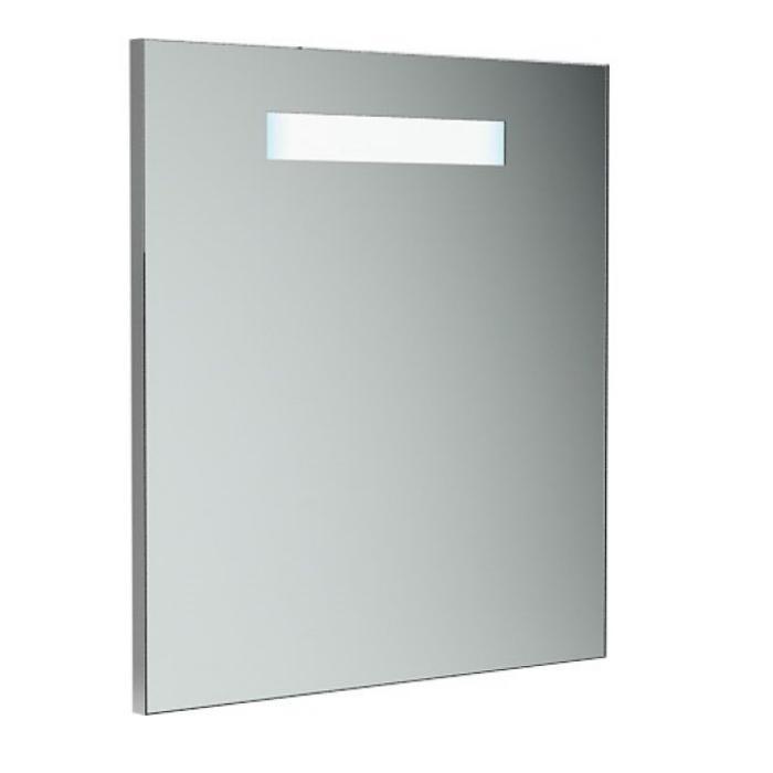 Фото сантехники Verona Зеркало с подсветкой 70х2,3х70см, 1 светильник, выключатель