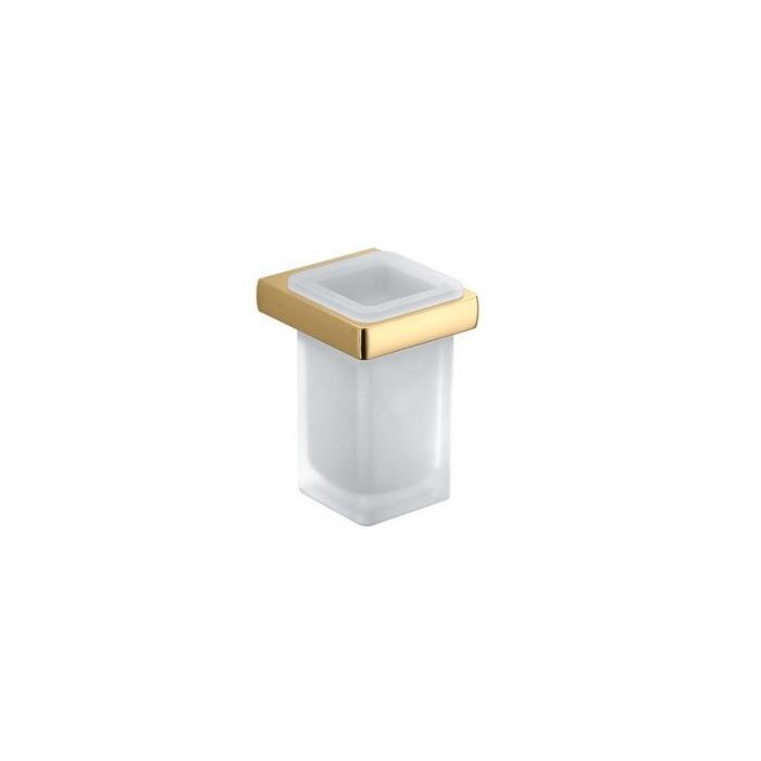 Фото сантехники Lulu стакан подвесной l.8,3 p.9,3 h.12,6 золото