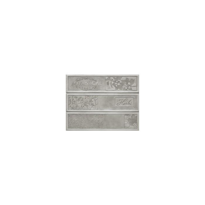 Текстура плитки Composicion Botanical Grey 22.5x30