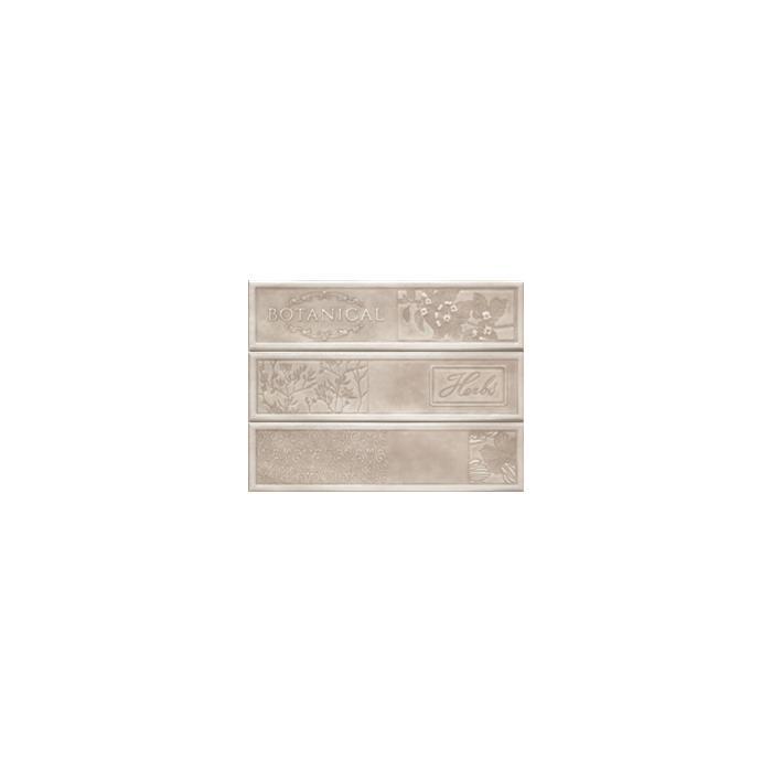 Текстура плитки Composicion Botanical Ivory 22.5x30