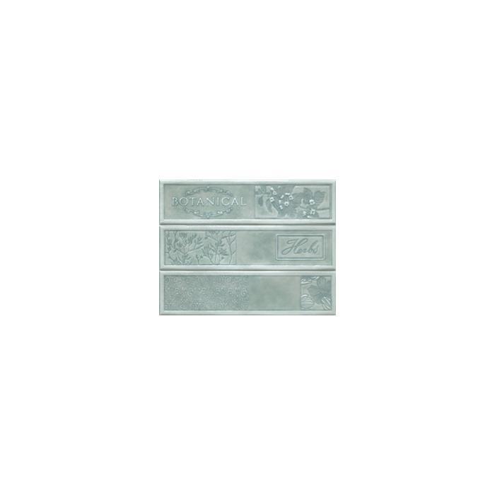 Текстура плитки Composicion Botanical Turquoise 22.5x30