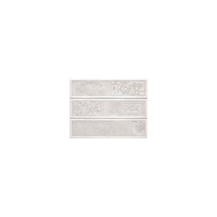 Текстура плитки Composicion Botanical White 22.5x30