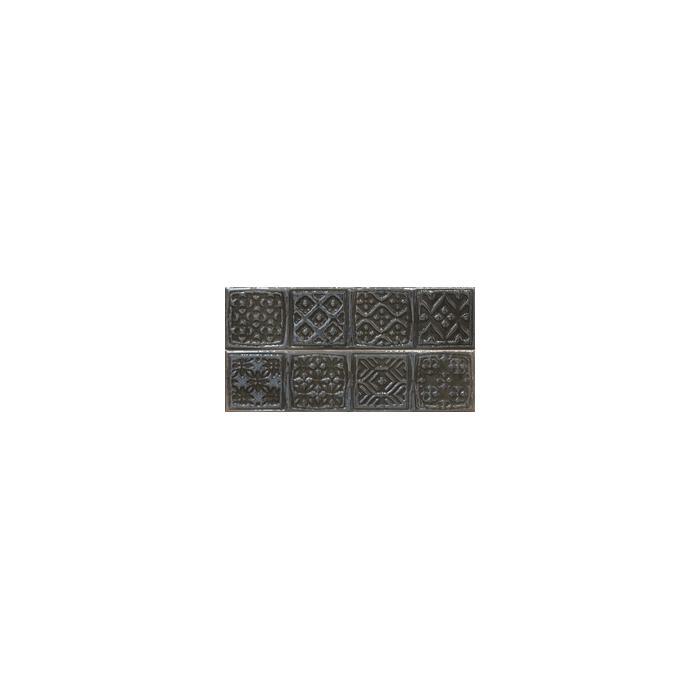 Текстура плитки Composicion Rodia Black 15x30