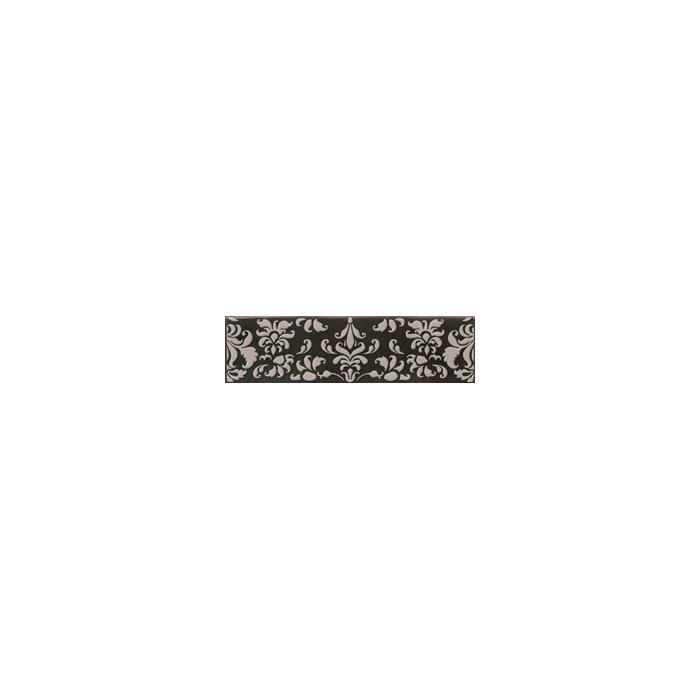 Текстура плитки Decor Coquet Black 7.5x30