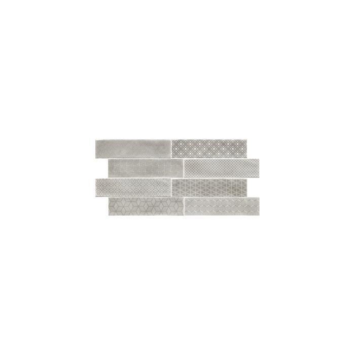 Текстура плитки Decor Opal Grey 7.5x30