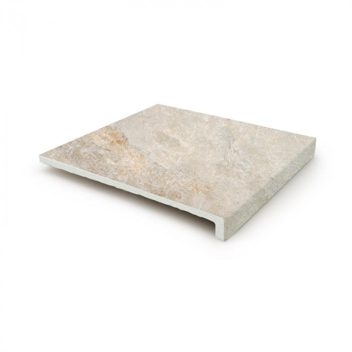 Текстура плитки Sea Rock Peldano Recto Marfil 31.6x33